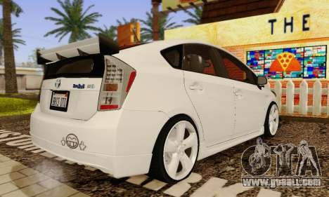 Toyota Prius Tunable for GTA San Andreas