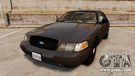 Ford Crown Victoria Sheriff [ELS] Unmarked for GTA 4