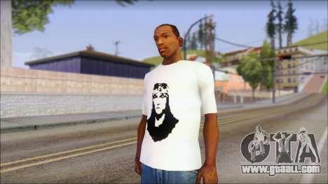 Axl Rose T-Shirt Mod for GTA San Andreas