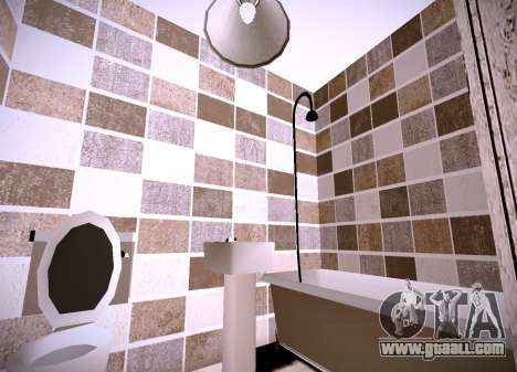 The interior of the apartment for GTA San Andreas third screenshot