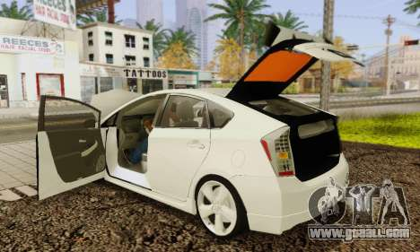 Toyota Prius Tunable for GTA San Andreas interior