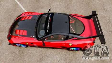 Ferrari F599 XX Evoluzione Simple CarbonFiber for GTA 4 right view
