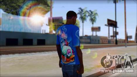 Fish T-Shirt for GTA San Andreas second screenshot