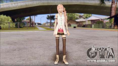 Final Fantasy XIII - Lightning Casual for GTA San Andreas