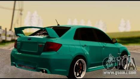 Subaru Impreza Stance Works for GTA San Andreas left view