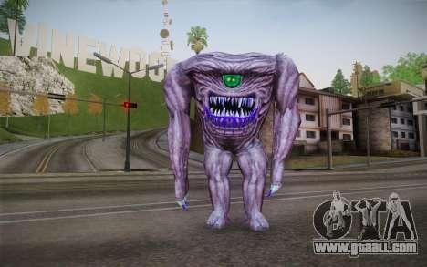 Gnaar from Serious Sam for GTA San Andreas