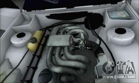BMW M3 E30 for GTA San Andreas upper view