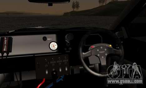 Toyota Corolla AE86 SHIFT2 for GTA San Andreas back left view