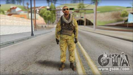 Afganistan Forces for GTA San Andreas