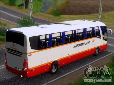 Marcopolo Paradiso 1200 Harapan Jaya for GTA San Andreas engine