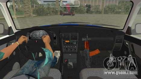 GAZ 31105 Volga DPS for GTA Vice City back left view