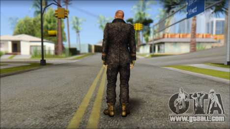 Jake Muller from Resident Evil 6 for GTA San Andreas second screenshot