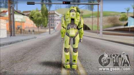Masterchief Green from Halo for GTA San Andreas third screenshot