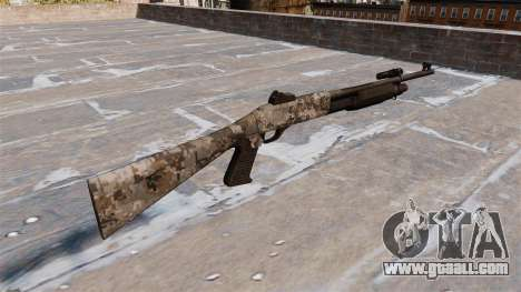 Ружьё Benelli M3 Super 90 ghotex for GTA 4 second screenshot
