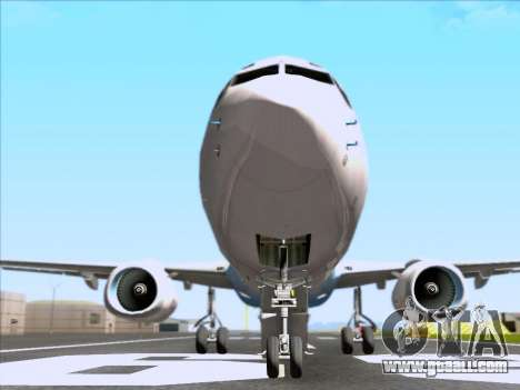 Boeing 737-800 Qantas for GTA San Andreas upper view