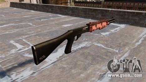 Ружье Franchi SPAS-12 Red tiger for GTA 4 second screenshot