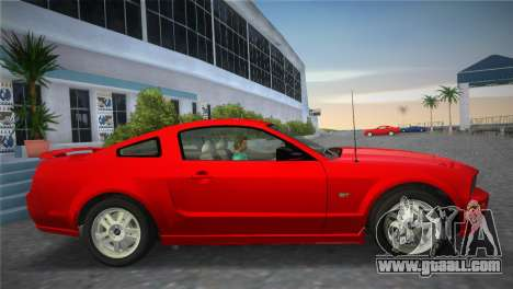 Ford Mustang GT 2005 for GTA Vice City back view