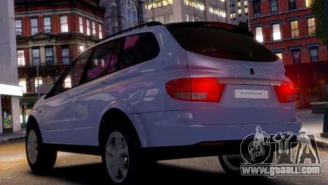 SsangYong Kyron for GTA 4 left view