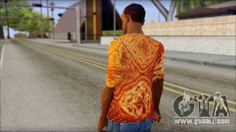 Batik Solo T-Shirt for GTA San Andreas second screenshot