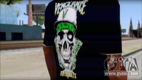 A7X New T-Shirt for GTA San Andreas third screenshot