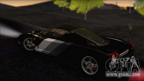 Ferrari Enzo 2002 for GTA San Andreas interior