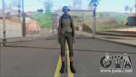Sherry Birkin Asia from Resident Evil 6 for GTA San Andreas