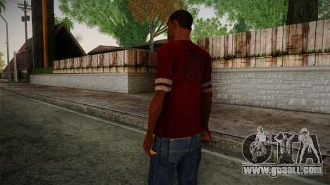 Kehed T-Shirt for GTA San Andreas second screenshot