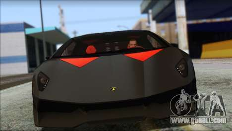 Lamborghini Sesto Elemento Concept 2010 for GTA San Andreas left view