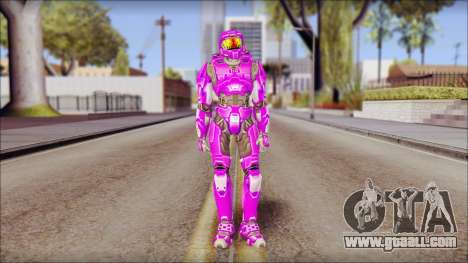 Masterchief Purple from Halo for GTA San Andreas