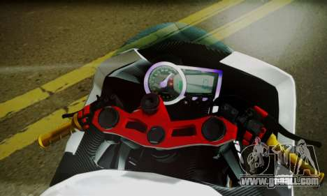 Kawasaki Ninja 250 fi for GTA San Andreas back left view