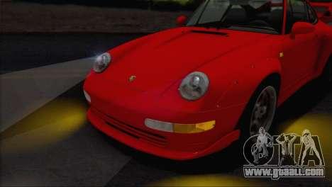 Porsche 911 GT2 (993) 1995 V1.0 EU Plate for GTA San Andreas upper view