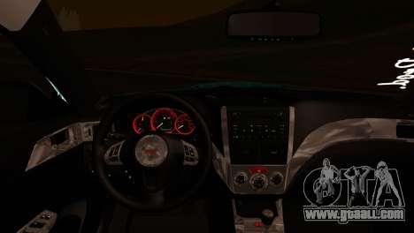 Subaru Impreza Stance Works for GTA San Andreas right view