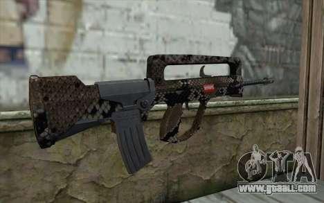 Famas-S for GTA San Andreas second screenshot