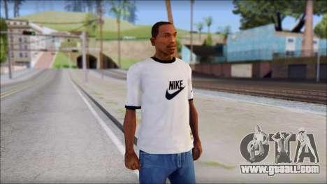 Nike Shirt for GTA San Andreas