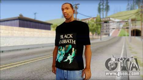 Black Sabbath T-Shirt v1 for GTA San Andreas