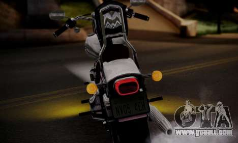 Harley-Davidson FXSTS Springer Softail for GTA San Andreas right view