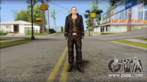 Jake Muller from Resident Evil 6 for GTA San Andreas