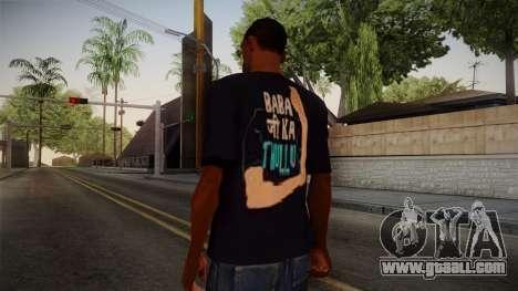 Babaji ka thullu T-Shirt for GTA San Andreas second screenshot
