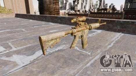 Automatic carbine MA Skol Camo for GTA 4 second screenshot