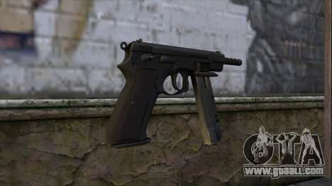 CZ75 from CS:GO v2 for GTA San Andreas second screenshot
