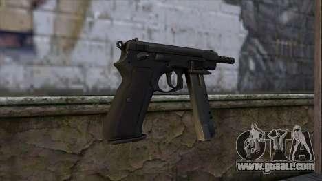 CZ75 from CS:GO v2 for GTA San Andreas second screenshot