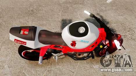Kawasaki Ninja ZX6R Stunt for GTA 4 right view