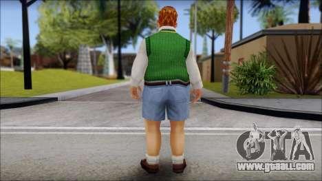 Algernon from Bully Scholarship Edition for GTA San Andreas second screenshot