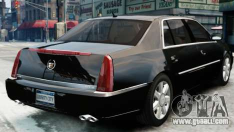 Cadillac DTS 2006 v1.0 for GTA 4 left view