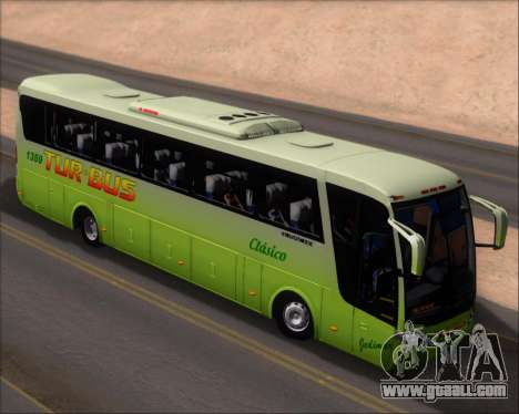 Busscar Vissta LO Scania K310 - Tur Bus for GTA San Andreas back view