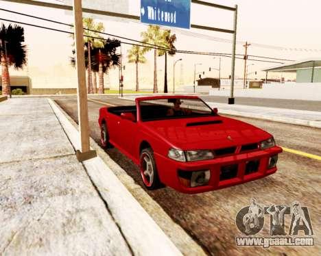Sultan Convertible for GTA San Andreas