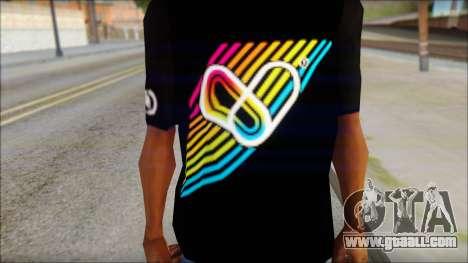 I Love Electro T-Shirt for GTA San Andreas third screenshot