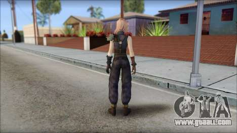 Final Fantasy XIII - Lightning Lowpoly for GTA San Andreas second screenshot