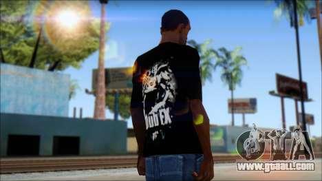 Dub Fx Fan T-Shirt v1 for GTA San Andreas second screenshot