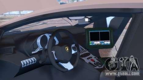 Lamborghini Aventador LP700-4 for GTA 4 side view